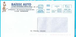 NOUVEAU Marque De Tri CS [90238,80238] Sur EMA Bal Frad HV 417039 Aude Baïsse Auto Suricate Erdmännchen Meerkat - Mechanische Stempels (varia)
