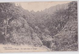 13 CHÂTEAUNEUF-LE-ROUGE - Un Ravin Dans Le Cengle Affranchissement Mollèges - Other Municipalities