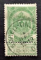 Rijkswapen OBP 56 - 5c Gestempeld  RELAIS SOHEIT TINLOT - 1893-1907 Coat Of Arms