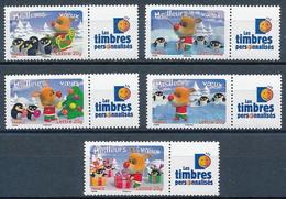 France 2006 - 3986a-3990a Série Timbres Gommés Meilleurs Voeux - Neuf. - Neufs