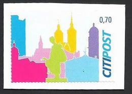 Privatpost, Citipost, Wertstufe: 0.70 EUR, Gebraucht Auf Papier - Privé- & Lokale Post