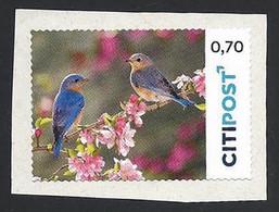 Privatpost, Citipost, Vögel, Wertstufe: 0.70 EUR, Gebraucht Auf Papier - Privé- & Lokale Post
