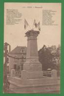 03 - Hyds - Carte Peu Courante : Monument - Edit Vve Michard - Liste De Noms - Zonder Classificatie