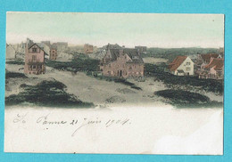 * De Panne - La Panne (Kust - Littoral) * (KLEUR - COULEUR) Les Dunes, Duinen, Villa, Panorama, Vue Générale, TOP - De Panne