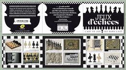 France 2021 - Carnet - Jeux D'échecs ** - Neufs