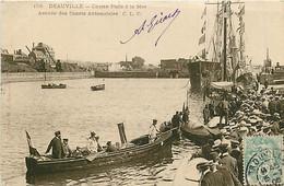 14* DEAUVILLE   Course Paris A La Mer - Arrivee     MA76-1048 - Deauville