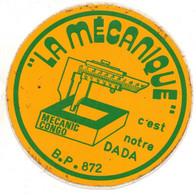 Pub  Autocollants - La Mécanique C'est Notre Dada Mécanic Congo ..vers 1980/85 - Autocollants