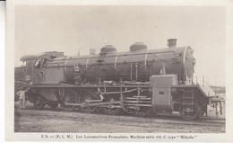 LES LOCOMOTIVES FRANCAISES MACHINE SERIE 141 C - Trains
