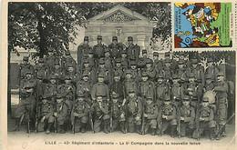 59* LILLE 43eme RI - 5 Eme Cie                    MA79-0827 - Lille