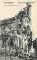 60* RIBECOURT Eglise Bombardee WW1                    MA79-1015 - Ribecourt Dreslincourt