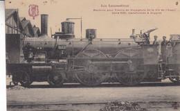LES LOCOMOTIVES MACHINE POUR TRAINS DE VOYAGEURS TRANSFORMEE A BOGGIES - Trains