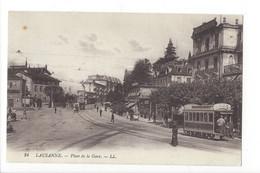 27349 - Lausanne Place De La Gare Tram - VD Vaud