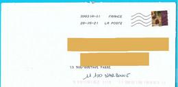 NOUVEAU Marque De Tri Rappel Numéro Et Nom De Rue Imprimé Par La Poste Timbre Kandinski Toshiba - Mechanische Stempels (varia)