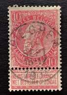 Leopold II Fijne Baard OBP 58 - 10c Gestempeld  EC DIEGHEM - 1893-1900 Thin Beard