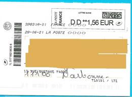NOUVEAU Marque De Tri TL0101/172 Rappel Numéro Et Nom De Rue Imprimés Lettre Suivie Toshiba - Mechanische Stempels (varia)