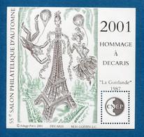 ⭐ France - Bloc Souvenir CNEP - YT N° 34 ** - Neuf Sans Charnière - 2001 ⭐ - CNEP