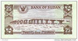 SUDAN P. 16a 25 Ps 1981 UNC - Sudan
