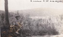 COL DE LA CHAPELOTTE - BADONVILLER  - CELLES SUR PLAINE - MEURTHE ET MOSELLE  -  (54)  -  RARE CARTE-PHOTO ANIMEE - - Altri Comuni