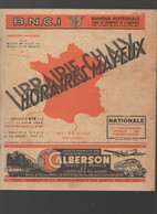 Librairie CHAIX Horaires MAYEUX  Juin 1947  (CAT2351) - Europe