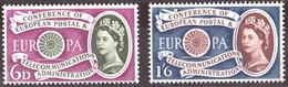 Cept 1960 Angleterre United Kingdom Yvertnr. 357-58 *** MNH Cote 14 € Europa - 1960
