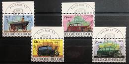 België, 1986, Nr. 2232-35, Solidaritieit, 1e Dag Stempel Filinter T.T. - Gebraucht