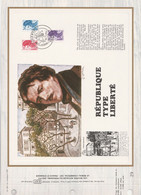 DOCUMENT FDC 1983 LIBERTES DE GANDON - 1980-1989