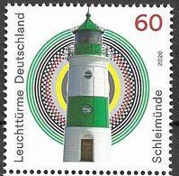 2020  Deutschland Germany .Mi. 3552 **MNH   Leuchtturm Schleimünde - Ungebraucht