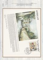 DOCUMENT FDC 1983 PEINTURE DE UTRILLO - 1980-1989