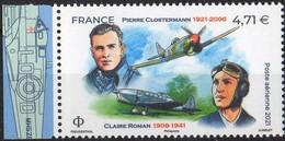 PA 85a : PIERRE CLOSTERMANN ET CLAIRE ROMAN  **  Du Bloc Feuillet De 10 Avec BdF TTB - 1960-.... Nuevos