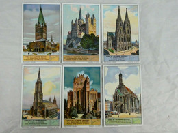 Liebig Chromo - Domes De L'Allemagne Medievale (7-12) - 1935 - Liebig