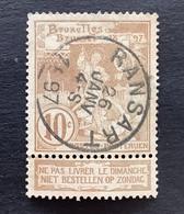 Wereldtentoonstelling Brussel OBP 72 - 10c Gestempeld  EC RANSART - 1894-1896 Exhibitions