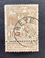 Wereldtentoonstelling Brussel OBP 72 - 10c Gestempeld  EC OREYE - 1894-1896 Exhibitions