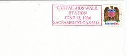 Capital Aids Walk Station 1994 Sacramento - Bulk Rate USA - Disease