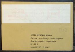 Belgium - Advertising Meter Franking Registered Cover EMA 1998 Brugge Sisa - 1980-99