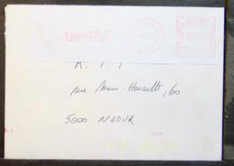 Belgium - Advertising Meter Franking Registered Cover EMA 1997 Brugge Appelil Cactus Sun - 1980-99