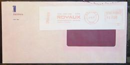 Belgium - Advertising Meter Franking Registered Cover EMA 1997 Brugge - 1980-99