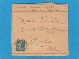 BANDE JOURNAL DU SP 200 POUR MOULINS,ALLIER 1917. - WW I