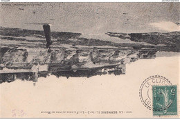 """Cachet Perlé Facteur Boitier """"Le Clion Loire Infre 1910"""" Semeuse Indice=3 + OL Dans Cercle Au Dos Pour Courbevoie - Manual Postmarks"""