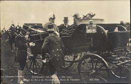 CPA Roi Eduard VII. Von England, King Edward VII., President Émile Loubet, Revue De Vincennes 1903 - Royal Families