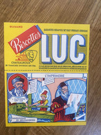 BUVARD BISCOTTES LUC - Biscottes