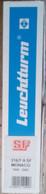 """Leuchtturm - ALBUM MONACO 1990/2002 SF Avec RELIURE PERFECT VERTE Titrée """"MONACO"""" - Binders With Pages"""