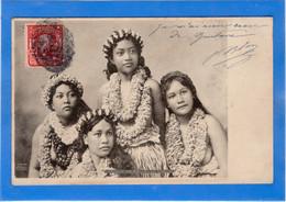 ETATS UNIS - HAWAII  Group Of Hawaiian Girls, Pionnière (voir Description) - Non Classificati