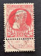 Leopold II Grove Baard OBP 74 - 10c Gestempeld  RELAIS MOIGNELEE - 1905 Breiter Bart