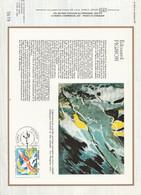 DOCUMENT FDC 1981 PEINTURE DE PIGNON - 1980-1989