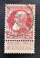 Leopold II Grove Baard OBP 74 - 10c Gestempeld  EC FREUX - 1905 Breiter Bart