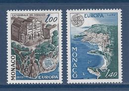 ⭐ Monaco - YT N° 1139 Et 1140 - Neuf Sans Charnière - 1978 ⭐ - Unused Stamps