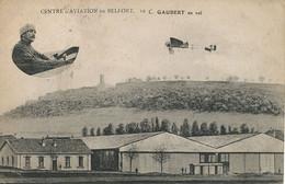 Belfort Centre Aviation Le Lieutenant Edmont Gaubert En Vol . Né à Alger - Belfort - City