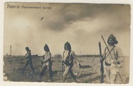Guerra Italo-Turca - Parlamentari Turchi A Tobruk (vedi Dettagliata Descrizione) 2 Immagini - Guerres - Autres