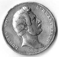 Bavière - Bayern - Medaille 1844 - Enthüllung Der Bavaria - Souvenir-Medaille (elongated Coins)
