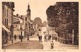 SAINTE MENEHOULD - Rue Florion Et L'Hôpital Mixte - Square Pasteur - Sainte-Menehould